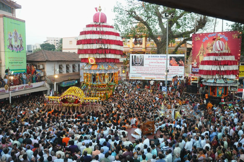 Video Live Streaming Car Festival 2012 of Sri Venkatramana Temple, Mangalore